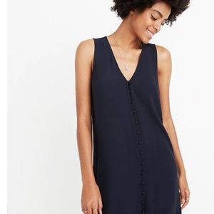 Madewell Heather Button Front Dress - L